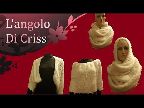 """Sciarpa all'uncinetto """" Infinity & magic"""" - crochet scarf - bufanda de ganchillo - YouTube"""