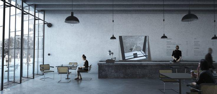 Foundation Bauhaus Dessau Announces Winners of Bauhaus Museum Competition,JA Architecture Studio's 4th place design.…