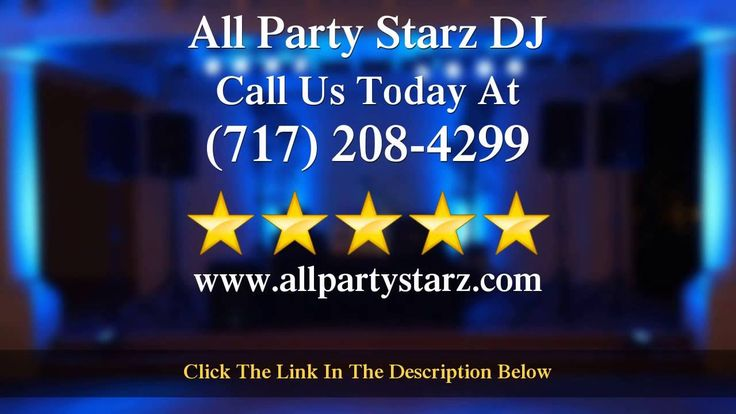 Prices For Party DJ Lancaster PA Prices For Party DJ Lancaster PA - http://ift.tt/20Nnzto - 717-208-4299 Lancaster PA Party DJ - Need to find a Wedding DJ? For the Best Party DJ in PA check out All Party Starz Entertainment for the top Party DJ Reviews.  Party DJ in PA All Party Starz Your Affordable Lancaster PA Party DJ Check out this great review featured in our video. Call today to set up a no obligation introductory meeting to go over your needs and get your Lancaster PA Party DJ…