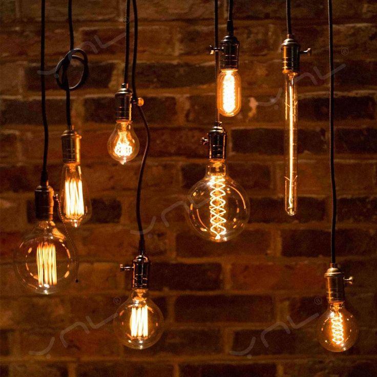 Ceiling Lights & Fans Pendant Lights Honest Retro Vintage Pendant Lights Lamp Loft Holder E27 Hanglamp Lustre Lampada Screw Socket For Kitchen Home Lighting Abajur