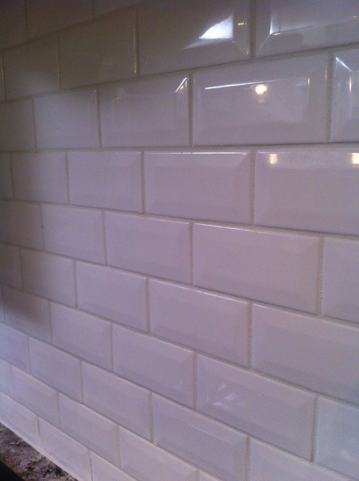 Daltile Rittenhouse Square Bevel In White 0100 Thomas