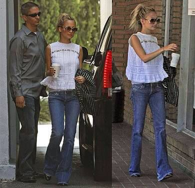 Flared jeans - long legs! Nicole Ritchie