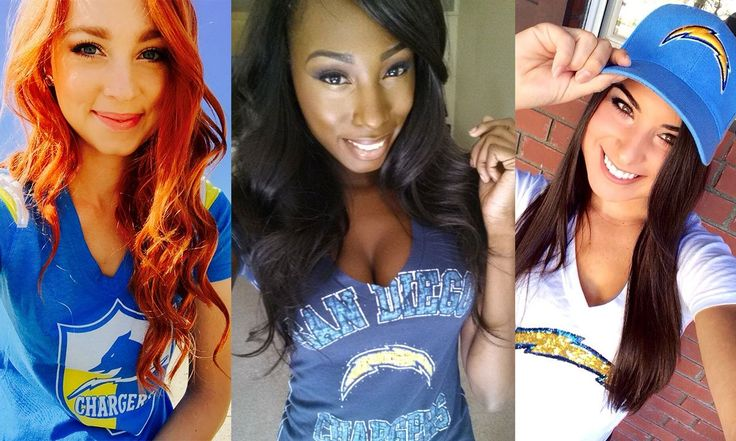 Fun, beautiful, and just plain awesome 2014 Charger Girls selfies.