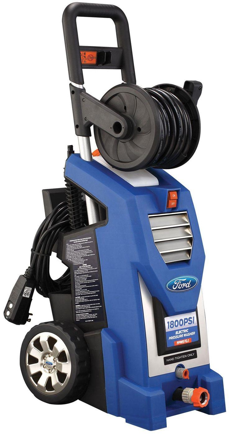 Ford FPWE1800K Electric Pressure Washer, 1800 PSI