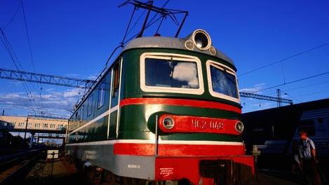 Riding the Trans Siberian