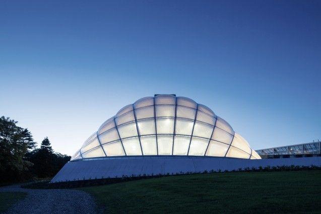 The Greenhouse in the Botanic Garden in Aarhus by C.F. Møller