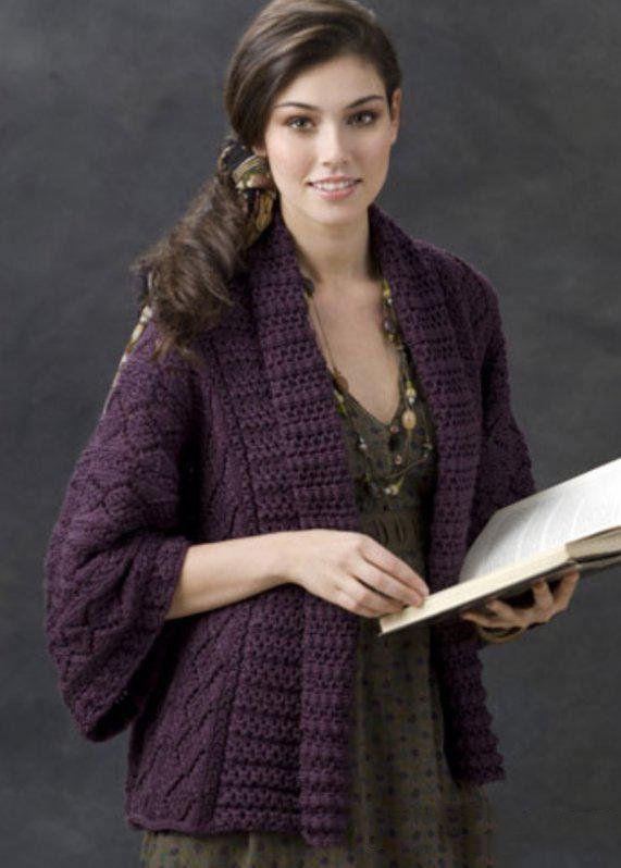 Весенний жакет от Маргерет Уилсон: вязание с пошаговым описанием