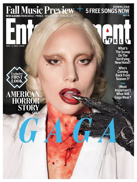 Lady Gaga Graces the Cover of Entertaiment Weekly