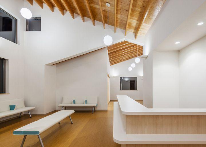 Y Clinic by Kimitaka Aoki ARCO architects Tsuchiura Japan