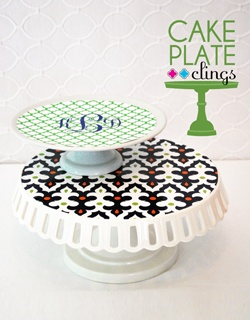 Cake Plate Clings by WH Hostess decorative liners for cake stands that are reusable non  sc 1 st  Pinterest & 14 best Cake Plate Clings images on Pinterest | Cake plates Cupcake ...