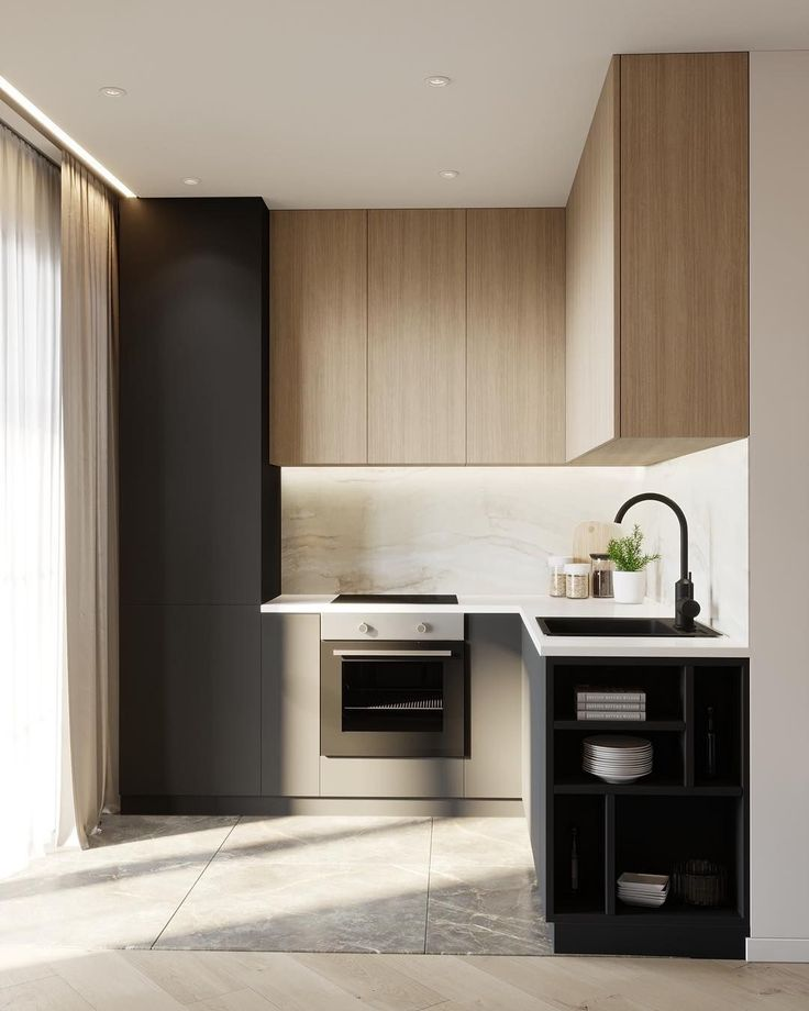 1401 best Küchen    Design images on Pinterest Kitchen modern - u förmige küchen