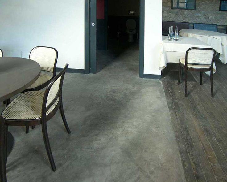 cemento lucidato pavimento
