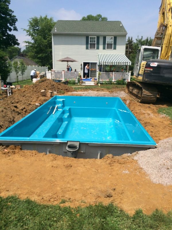 The Crystal Blue Reflection pool is now in the hole