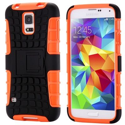 Multiple Colors available Rugged TPU Plastic Hybrid Heavy Duty Armor Phone Case For Samsung Galaxy S5 S6/Edge/Plus S7 Edge Hard Shock Proof Back Cover S5