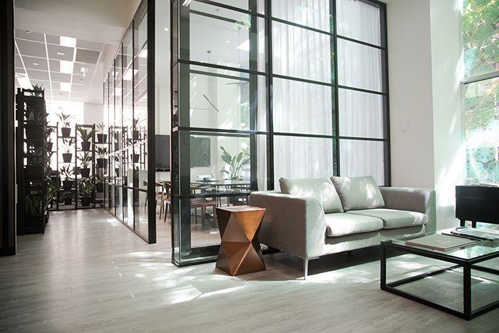 Beulah International Melbourne - Client waiting area - Glass partition