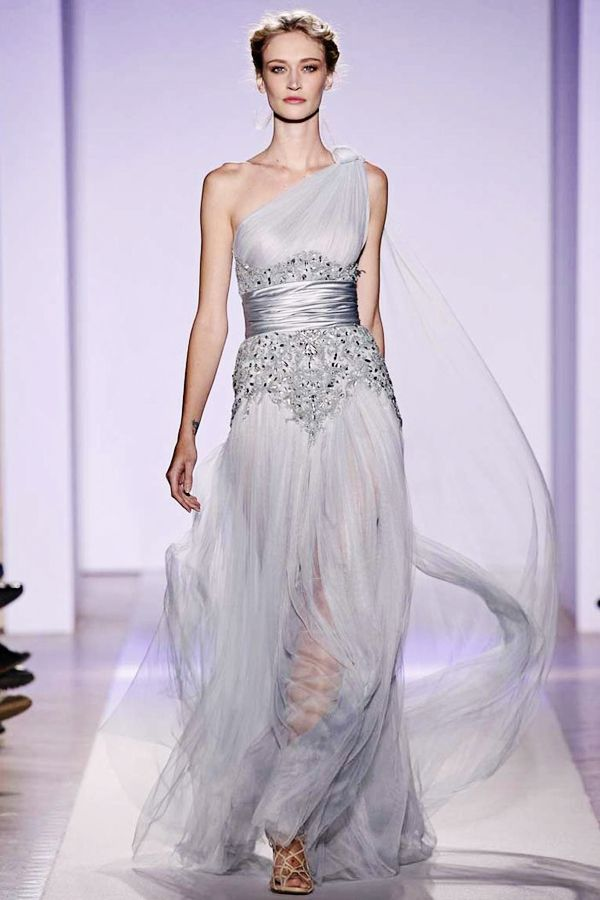 Daphne - Halloween Masque 25 Breathtaking Ice Queen Themed (Frozen-Inspired) Wedding Dresses