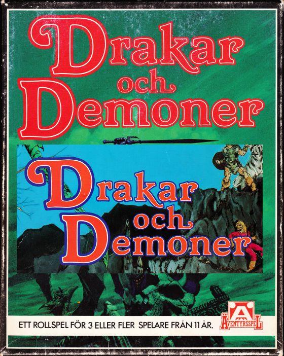 Sagan om Drakar och Demoner-loggan