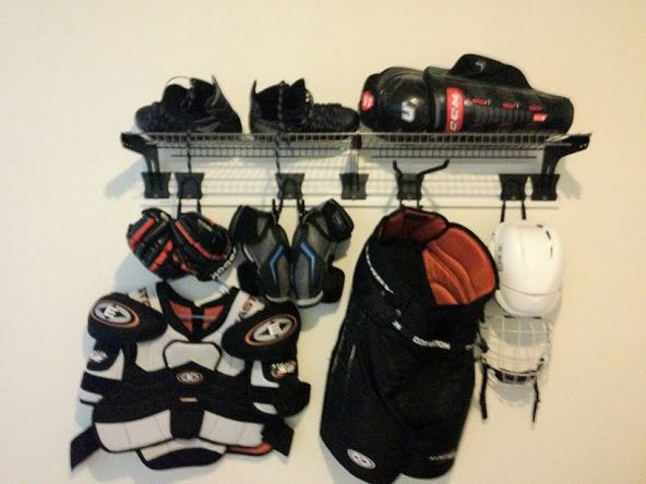 For a long time I have spread my gear on the floor either in the house or in the garage. Fed up with this, I decided to search for a better way to dry my ge...