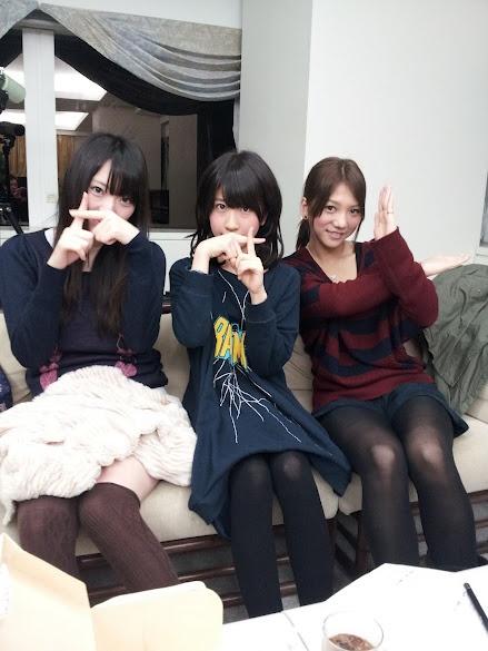 Kitarie, Harukyan and Akicha, Google+ senbatsu members #AKB48