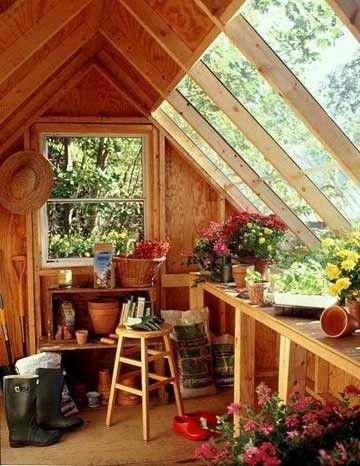Potting Shed - greenhouse~