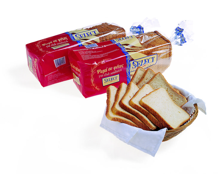 Select Packaging for tost bread