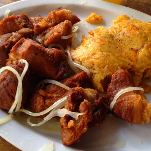 Carne Frita & Mofongo