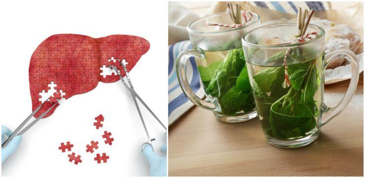 Czas na domowy detoks! Napar oczyszczający wątrobę [a w nim mięta, sok pomarańczowy i cytryna]