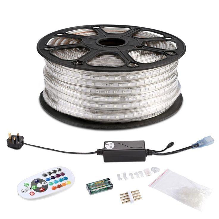 Multi Color LED Strip Christmas Lights, 50M RGB LED Strip Light Kit