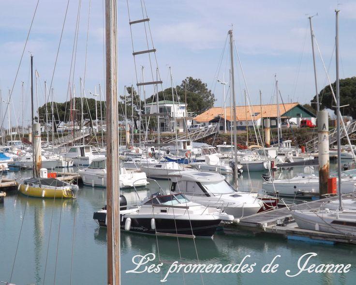 Le port de la Cotinière vers 17 h.