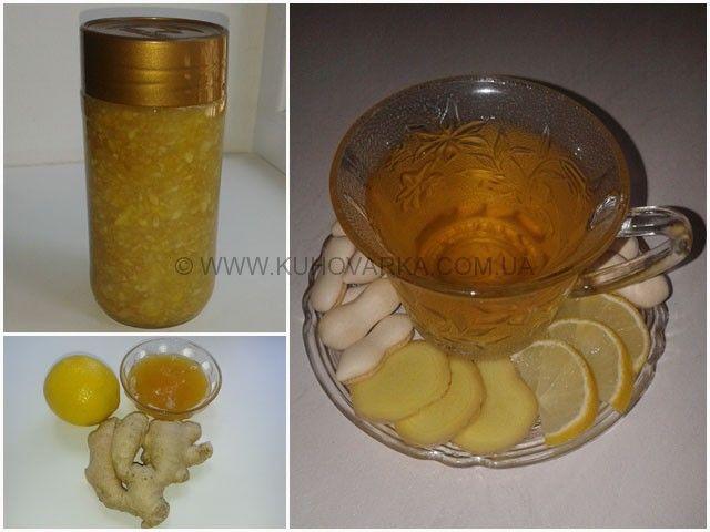 Имбирный напиток. Имбирный чай с мёдом и лимоном — рецепт как приготовить с фото | КУХОВАРКА