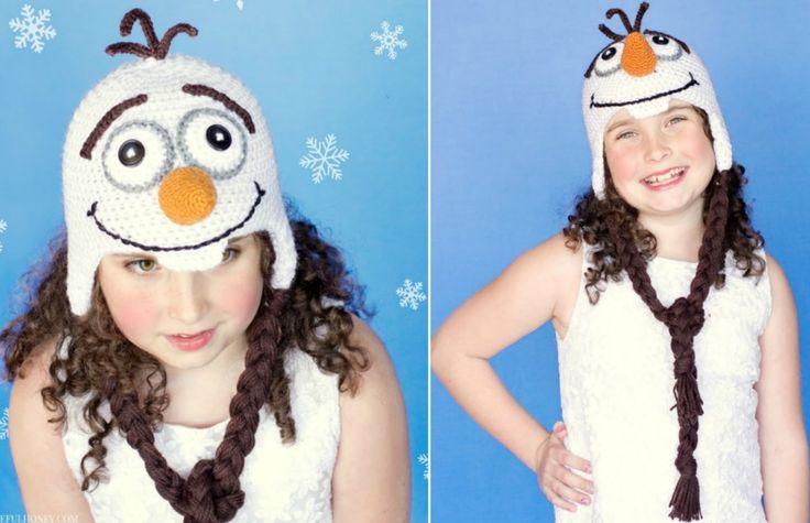 Frozen Crochet Pattern Olaf Hat