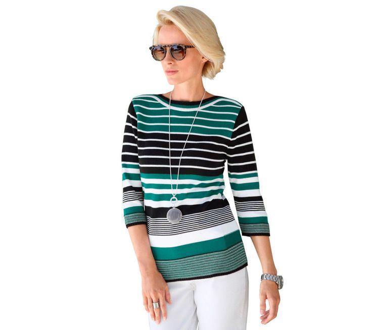 Pruhovaný pulovr Collection L. | modino.cz #modino_cz #modino_style #style #fashion #vanoce #darek #promamku