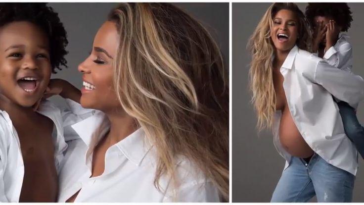 Ciara pregnant photos 2017 | Ciara maternity picture | ciara pictures 20...