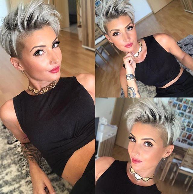 "848 Likes, 6 Comments - SHORT HAIR INSPIRATION (@chopitoff) on Instagram: ""❤️❤️ @jejojejo87 . . . . #pixie #pixiecut #girlswithshorthair #shorthairdontcare #charlestonsc…"""