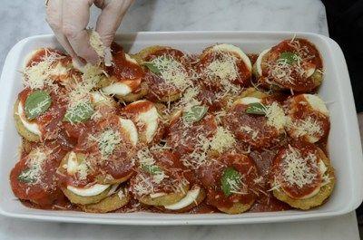 Resultado de imagem para tomates verdes fritos com queijo