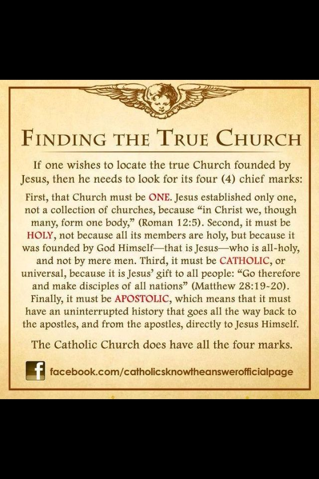 Catholic Church-the one and only true church. Not from another church but from God through Jesus Christ.