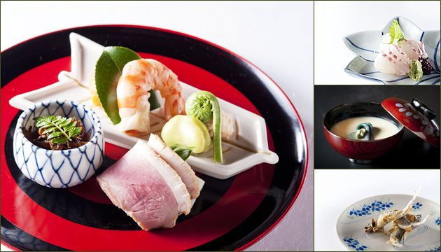 四月のお料理  祇園 川上 ミシュラン2015 二つ星