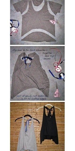 L'inesauribile mondo delle t-shirt riciclate www.marandvicreativestudio.com