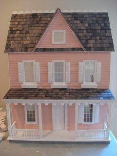 Little Darlings Dollhouses: Building the Vermont Farmhouse Dollhouse