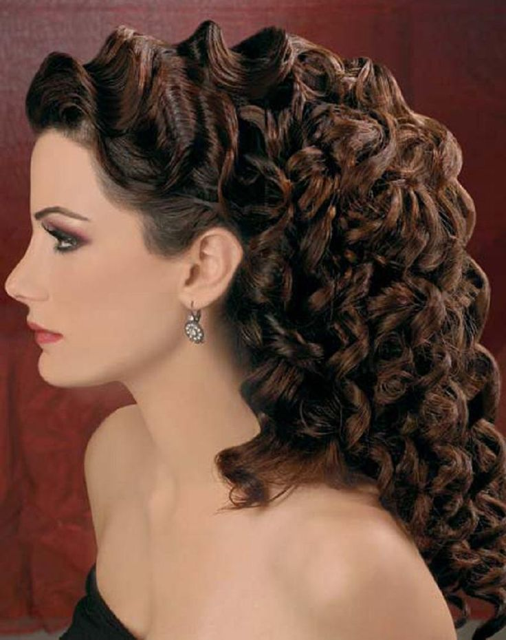 cool Wedding Hairstyles for Curly Hair