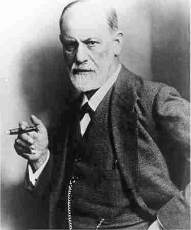 Photo Psychiatrist Sigmund Freud Smoke Cigar $9.99