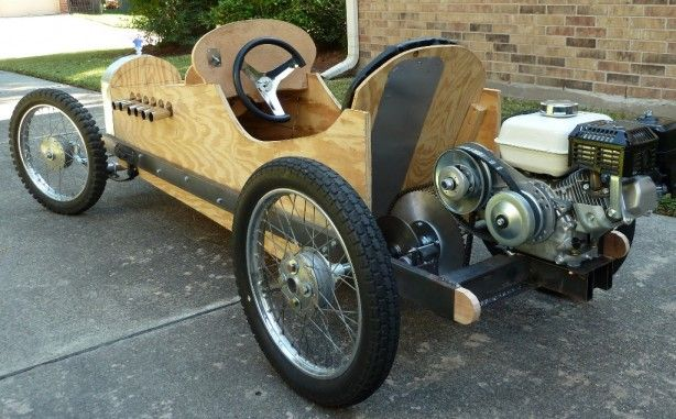 Too bad I saw this, because I have that engine and some plywood in my garage.