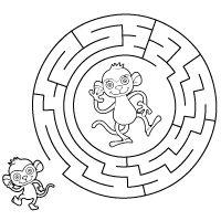Kiddoland: Labirynt Małpki