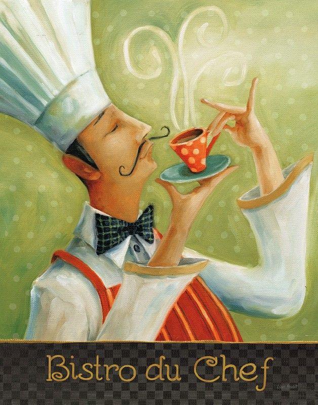 Gravura Café - Cafe Moustache I | Posters e Gravuras de Alimentos e Bebidas e Até 50 x 70| Pictus.com.br