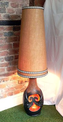 1970s, West German fat lava floor lamp. Huge! Rare 'Devil's Heart' design. Great | eBay