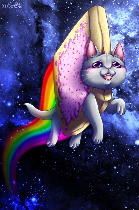 Nyan Cat goes on and on and on and on and on and on and on well you get the point.