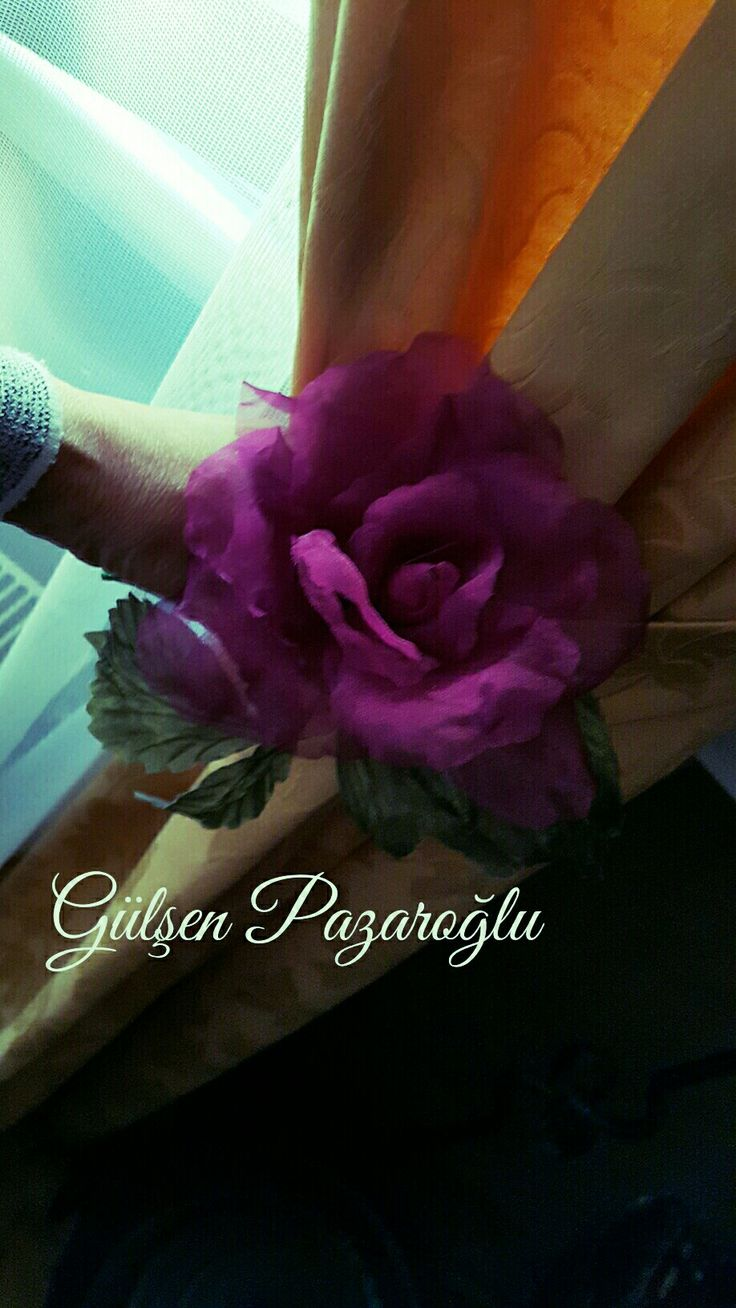 Perde Çiçeğim