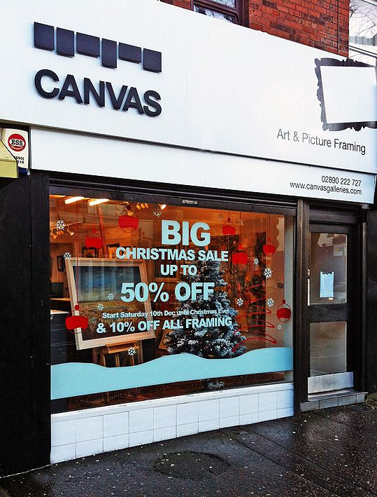 Another great way to promote your #Holiday sales this #Season: Window #Graphics! www.speedproeastpa.com