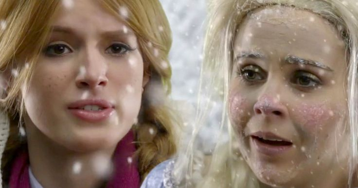 'Frozen' Live Action Parody Starring Bella Thorne -- 'The Duff' stars Bella Thorne and Mae Whitman team up for a behind-the-scenes look at Disney's live-action adaptation of 'Frozen'. -- http://www.movieweb.com/frozen-movie-parody-bella-thorne-mae-whitman