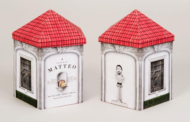 Matteo panettone packaging PD